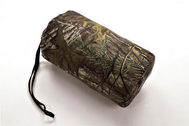 Bigood Men's Ultralight 90% Duck Down Coat Camouflage Parka Puffer Jacket