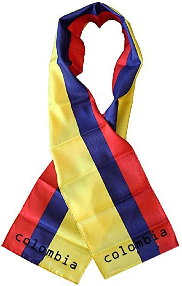 "Cape Verde Country Lightweight Flag Printed Knitted Style Scarf 8/""x60/"""