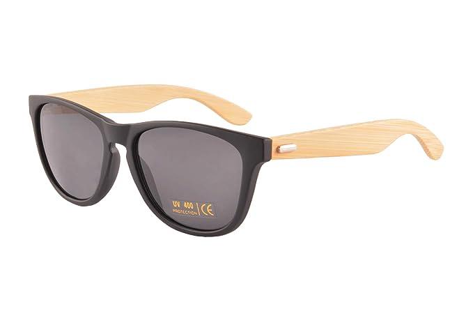 Amazon.com: SHINU - Gafas de sol de bambú para hombre o ...