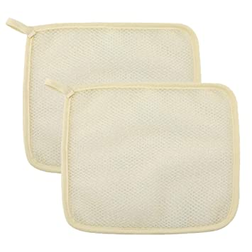 Exfoliating Massage Towel Scrubbing Bath Washcloth Body Shower Towel NEW