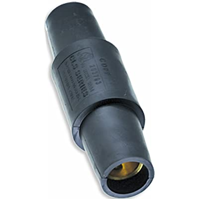 Marinco CDFF-A CLS Cam Type, Series 16, 400 Amp Female to Female Coupler (F-F) - Black (A): Industrial & Scientific