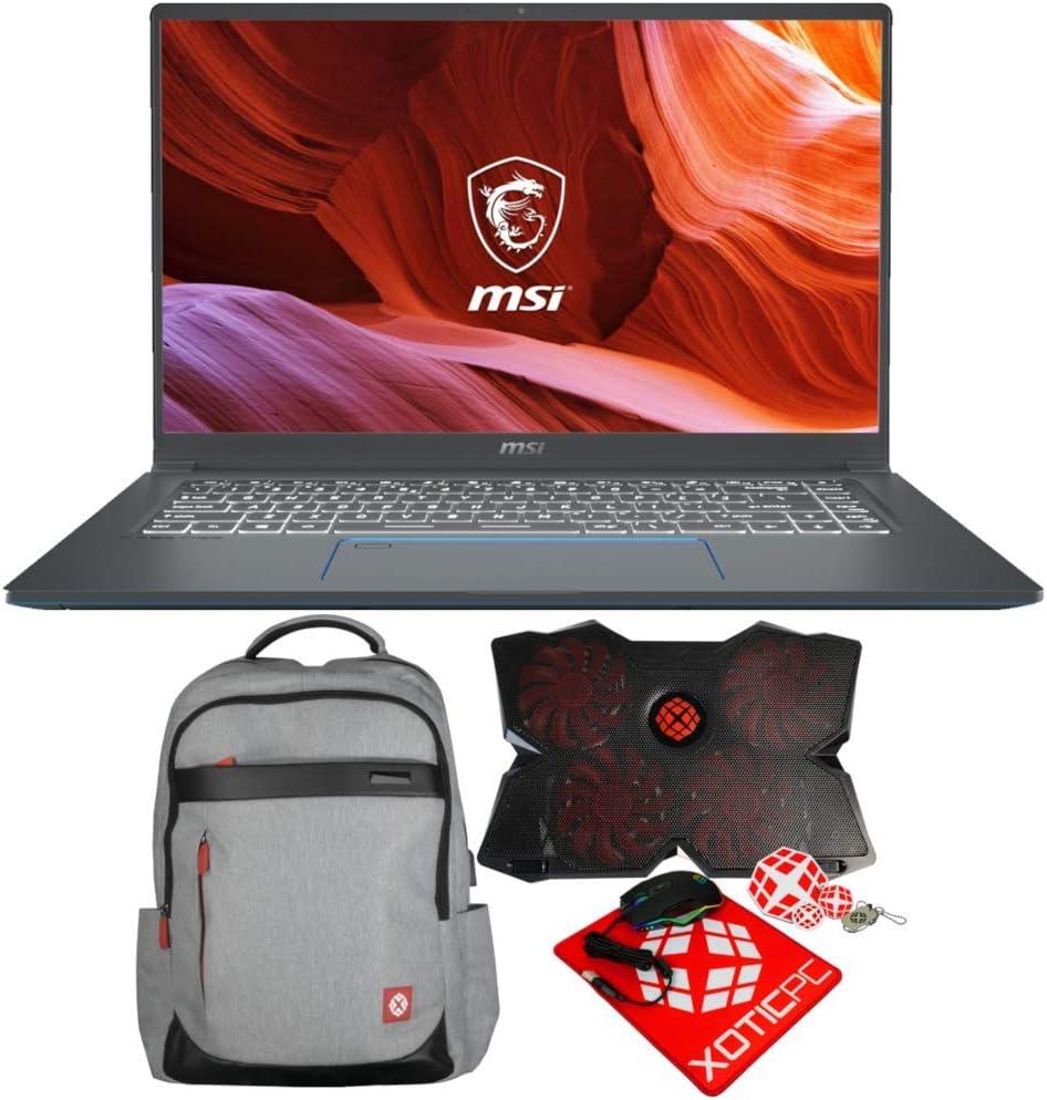 """MSI Prestige 15 A10SC-010 (i7-10710U, 32GB RAM, 1TB NVMe SSD, GTX 1650 4GB, 15.6"""" 4K UHD, Windows 10 Pro) Professional Laptop"""