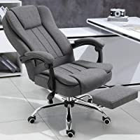 Thuis Office Chair gamestoel met voetensteun, High Back Computer Gaming Chair, PU Leather bureaustoel, met…