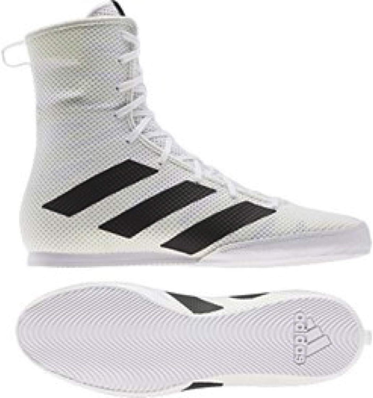 Adi Mens Box Hog 3 White Boxing Boots