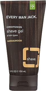 product image for Every Man Jack Shave Gel - All Skin Types - Sandalwood - 5 oz