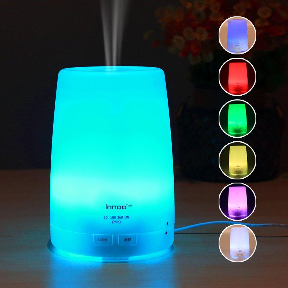 Humidificador difusor ultas nico innoo tech 300ml luz led - El mejor ambientador para casa ...