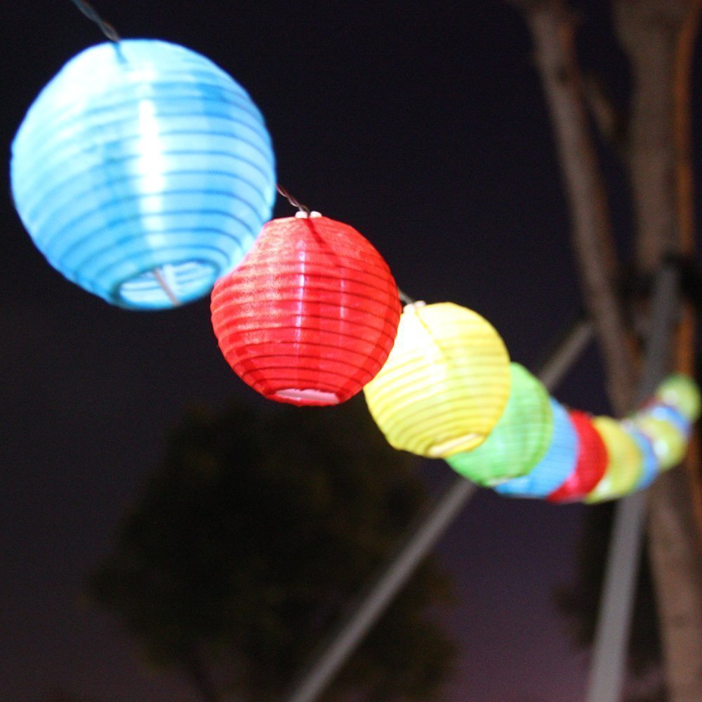 Solar Color Led Chinese String Lights