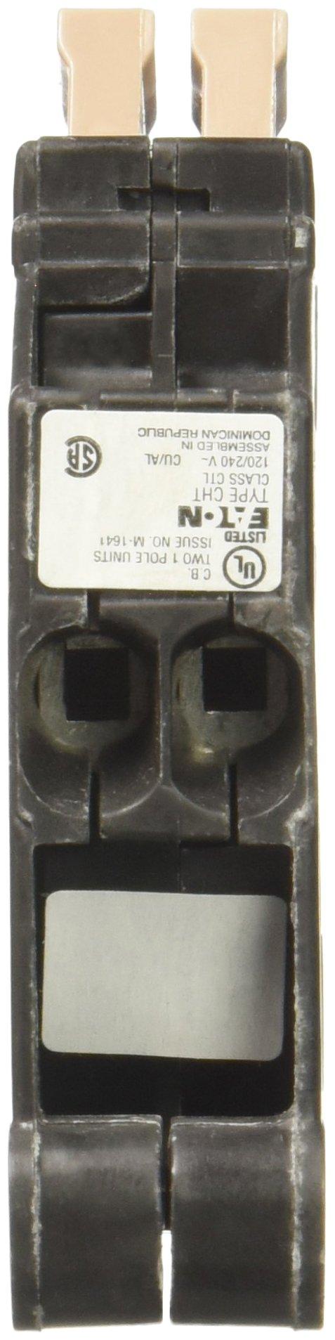 EATON CHT1515 3/4'', 120 Vac, 15 Amps 606122 Ch Series Single-Pole Twin Breaker
