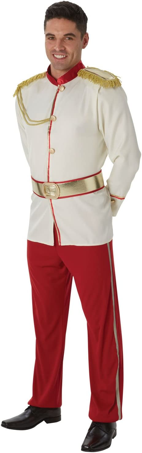 Disney - Disfraz de Príncipe de Cenicienta para hombre, Talla ...