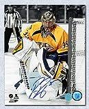 #8: Pekka Rinne Nashville Predators Autographed Goalie Spotlight 8x10 Photo - Autographed Hockey Photos