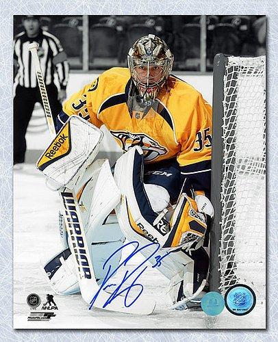 Pekka Rinne Nashville Predators Autographed Goalie Spotlight 8x10 Photo - Signed  Hockey Pictures 888fdf2f6