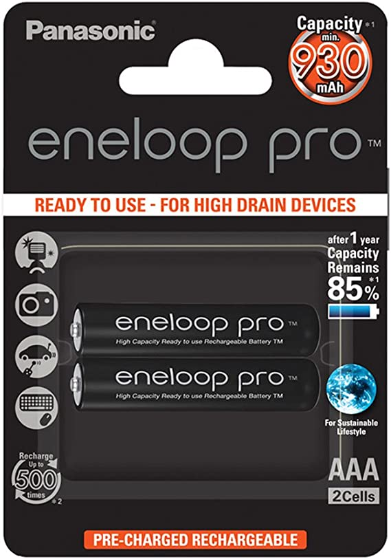 Image of Panasonic Eneloop SY3057185 - Pack 2 Pilas Recargables, AAA
