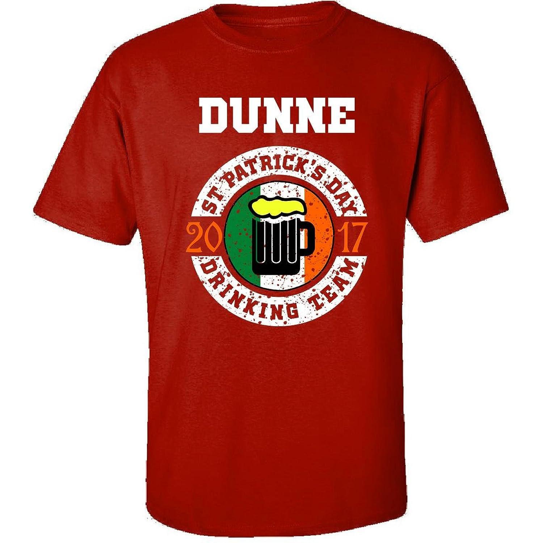 St Patricks Day Dunne 2017 Drinking Team Irish - Adult Shirt