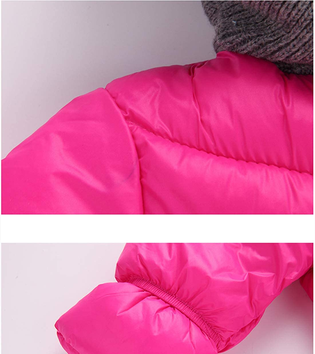 Kinder Lange /Ärmel Spielanzug M/ädchen Baumwolle Oberbekleidung Jungs Onesies Down Jacke Kind Hoodie Jumpsuit Winter Schneeanzug S-XL