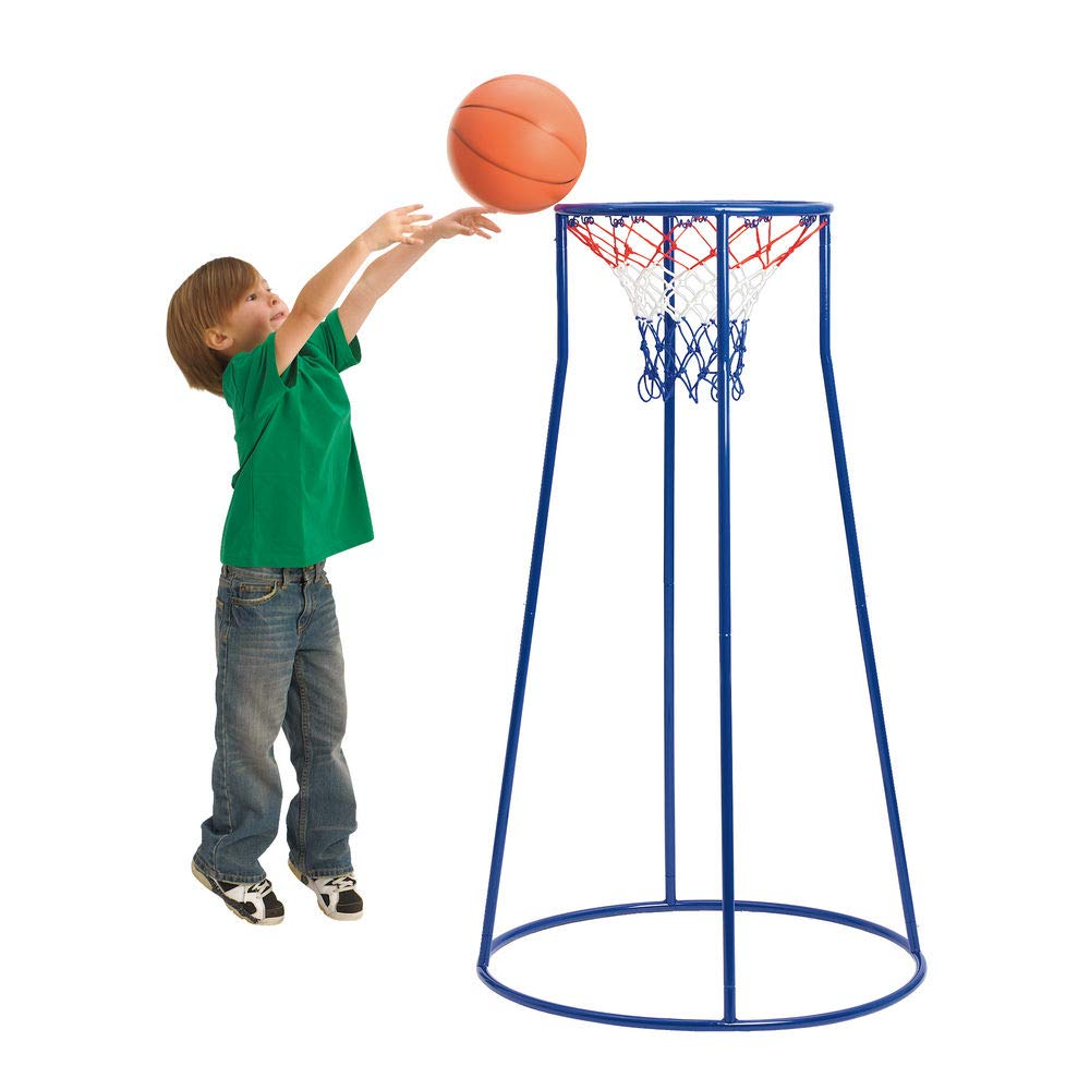 Excellerations Oversized Rim, Easy Score Basketball Hoop Set for Kids (Item #HOOP5) by Excellerations