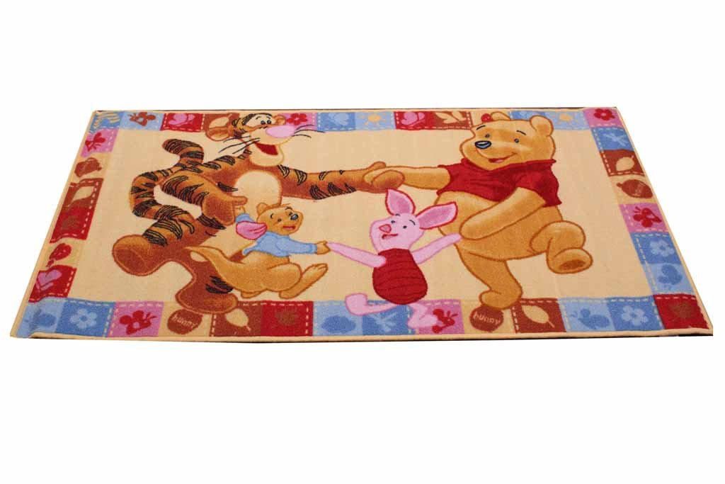 Disney Children's Rug with Winnie the Pooh Friends 140 x 80 cm Unbekannt