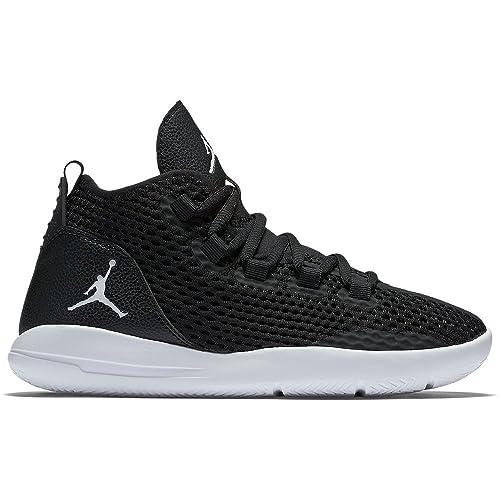Nike Zapatillas de Baloncesto para Niños, Negro Black-White, 36 1/2 EU: Amazon.es: Zapatos y complementos