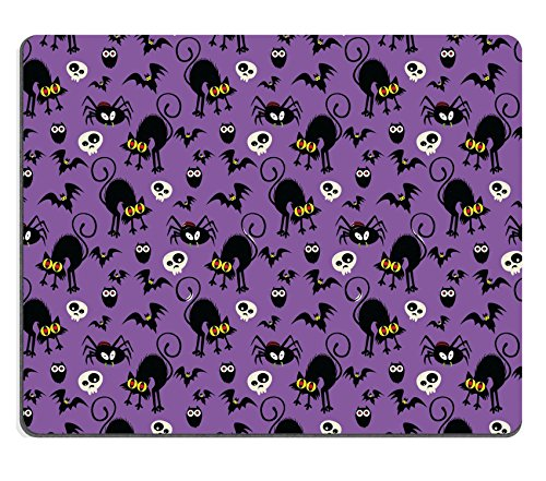 Luxlady Gaming Mousepad IMAGE ID: 32382820 Halloween Seamless Pattern (Halloween Drink Ideas For A Bar)