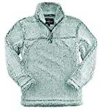 Boxercraft Youth Sherpa Pullover (Medium, Frosty Hunter)