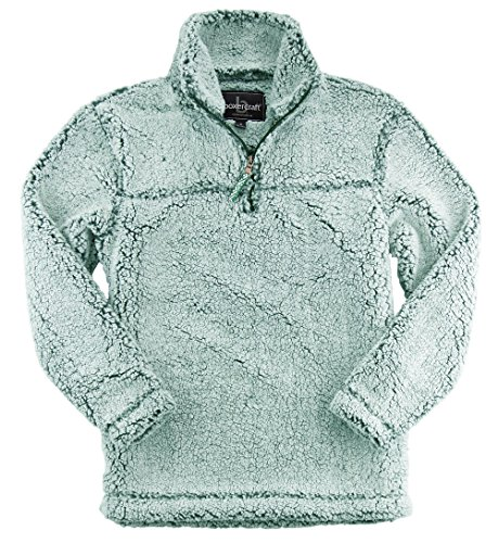 Price comparison product image Boxercraft Youth Sherpa Pullover (Medium, Frosty Hunter)