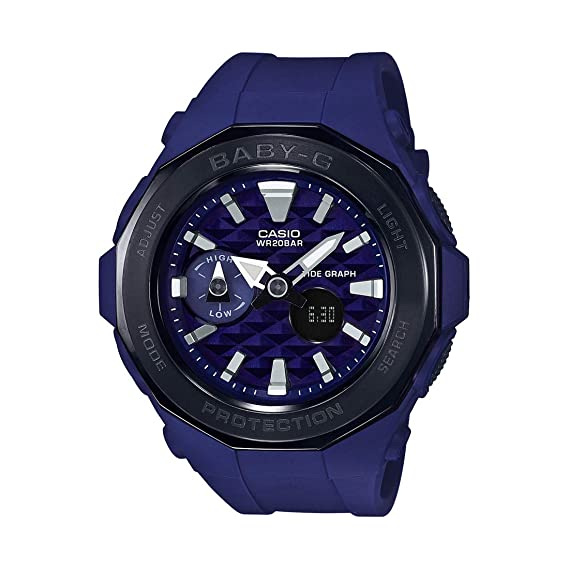 b09a5e9afe7 Buy Casio Baby-g Analog-Digital Blue Dial Women s Watch - BGA-225G-2ADR  (B194) Online at Low Prices in India - Amazon.in