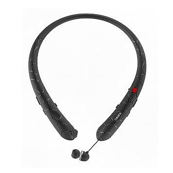 Auriculares Bluetooth Cocopa Bluetooth 4.1, banda para el cuello, auriculares inalámbricos con micrófono para