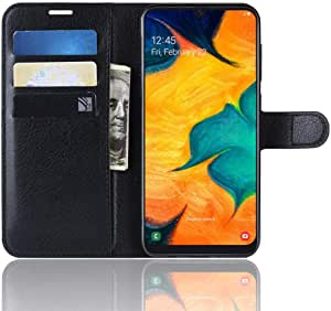 For Samsung Galaxy a50 Wallet Case, Leather Flip Cover with Card Slots and Magnetic Clasp