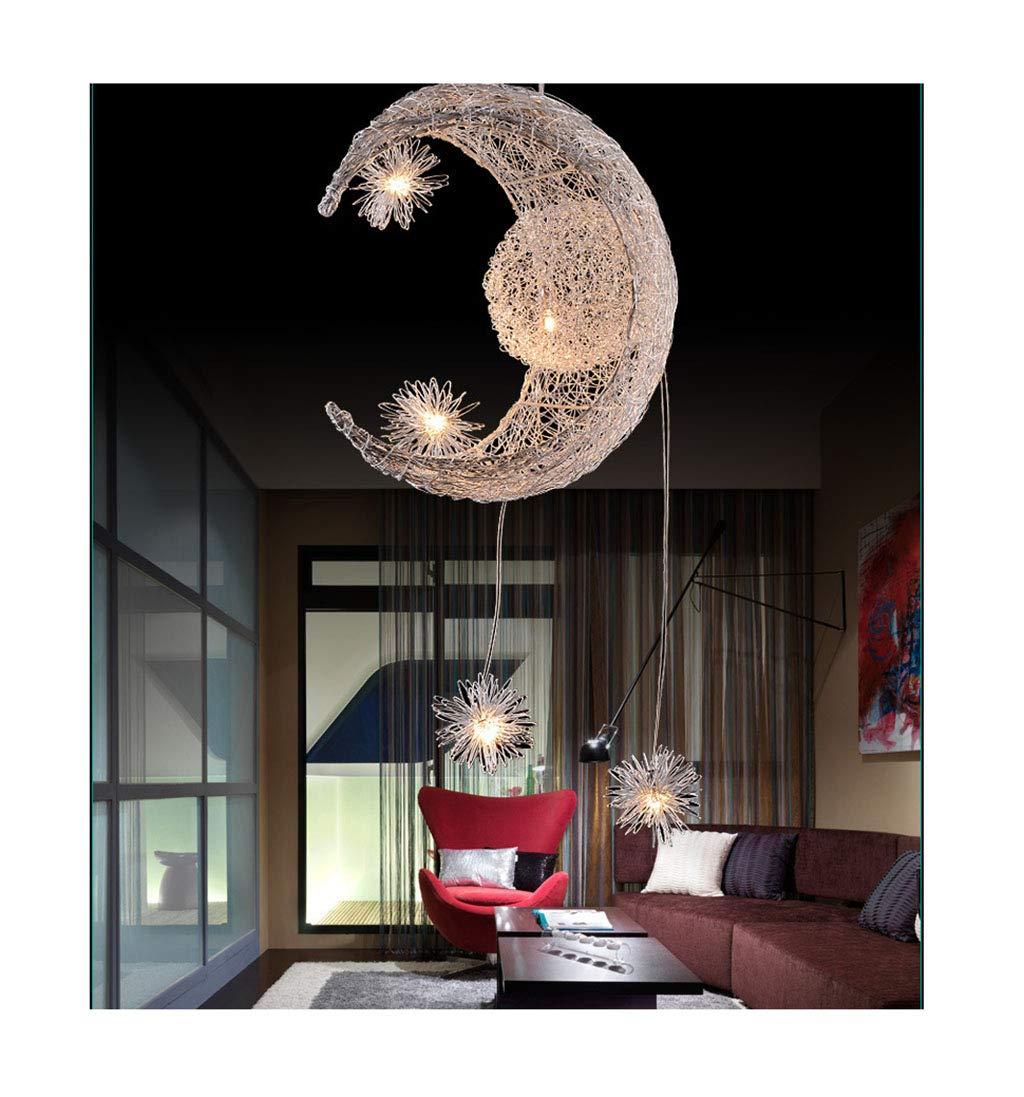 NIUZIMU Kronleuchter Pendelleuchte Leuchter Die Kreative Einfache Mode Kristall Kronleuchter Lampe Schlafzimmer Für Kinder Restaurant Haushaltsbeleuchtung (Farbe   1 )