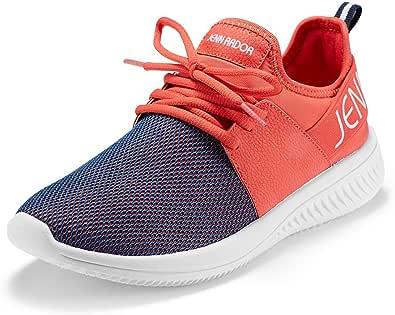JENN ARDOR Women's Walking Shoes Lightweight Casual Comfortable Breathable Mesh Work Slip-on Sneakers Shoes