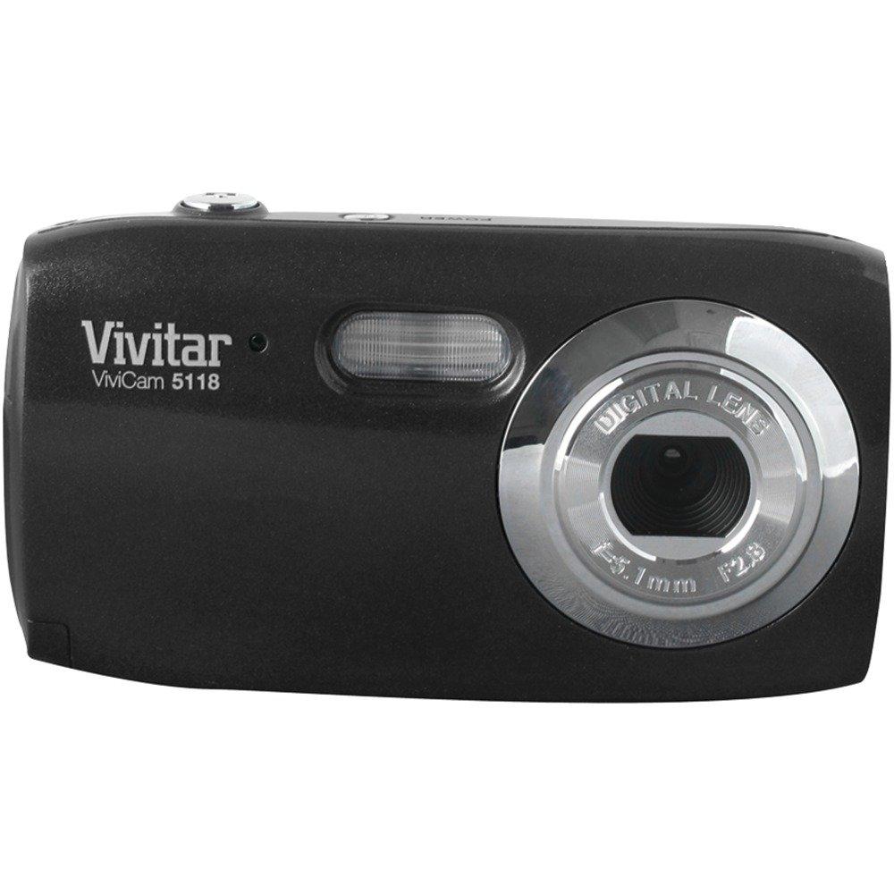 Vivitar 5.1MP Digital Camera 1.5-Inch TFT- Blister (V5118-BLK-PR)
