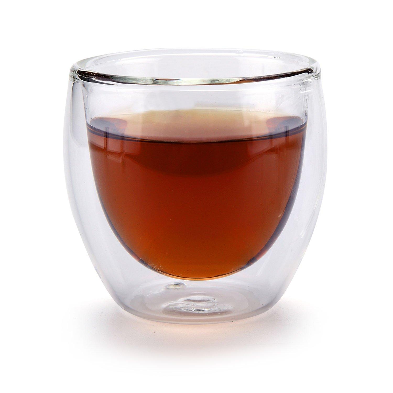 Rachel's Choice 50ml Double Wall Insulated Shot Glass Espresso Cup or Tea Cup - Pumpkin Shape Rachel' s Choice