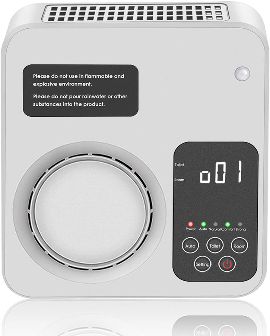 Generador de ozono, ionizador de aire mejorado POLAME, purificador de aire de ozono doméstico, generador de ozono de cerámica, desodorante