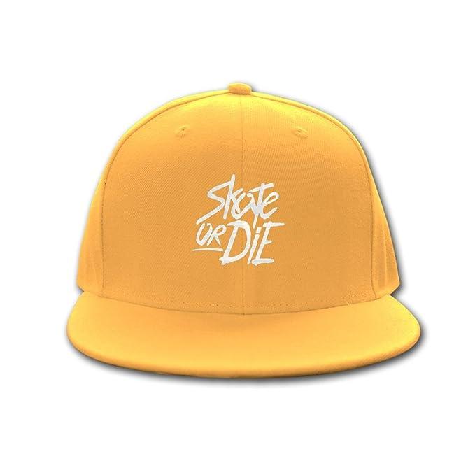 Mumu gorra de béisbol Hip Hop Skate or Die Logo Trucker gorro: Amazon.es: Ropa y accesorios