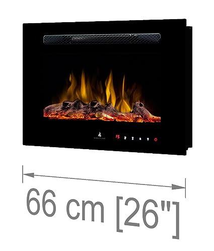 Noble Flame París 660 [Chimenea eléctrica Empotrada Pared / Montado en la pared ]