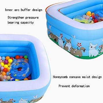 SUMMERSEA - Piscina Hinchable para niños con Juegos hinchables ...