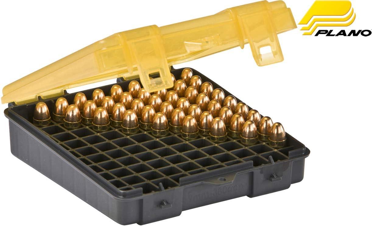 Plano 100 Count Handgun Ammo Case (for .45.40 and 10mm Ammo) 61Ka1AImufL