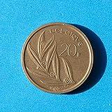 Belgium 20 Francs 1980 Coin