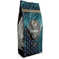 Beo Hive | Café en Grano | Cafe Ethiopia Blend 100% de Origen Etiopia | 1 kg | Aromático y de Tueste Natural | Café en…