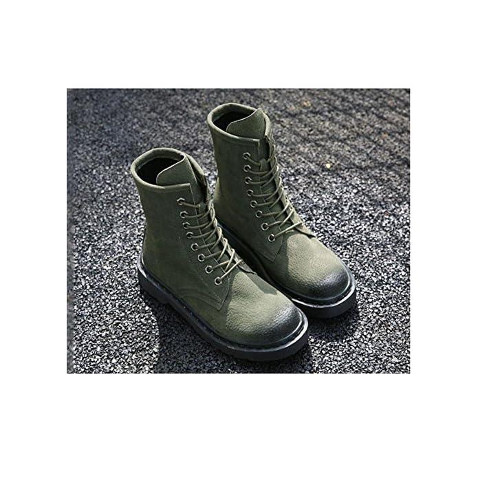 Stivali Da Donna Invernali Antivento Caldo Piatto Scarpe Casual 40