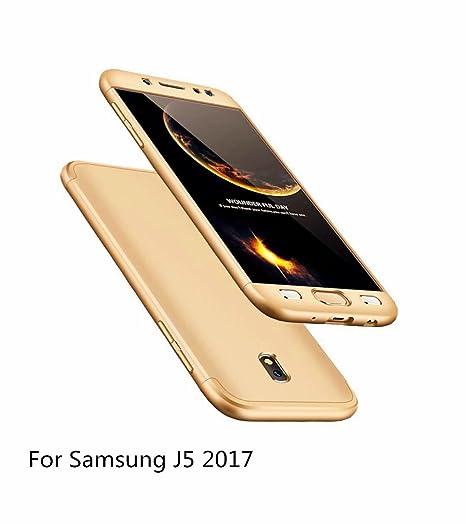 JINCHANGWU Funda para Samsung Galaxy J5 2017 Rigida 360 ...