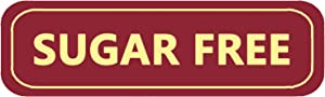 Sugar Free Labels,Food Allergies Warning Label Stickers for Food Package,2x0.5 Inch,500 Pcs Per Roll.
