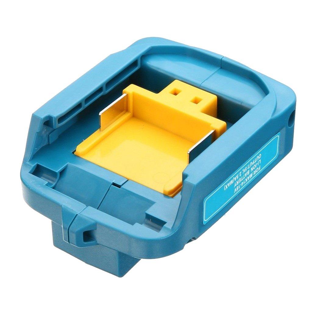 D DOLITY Adaptador USB Cargador de Baterías Herramienta ...