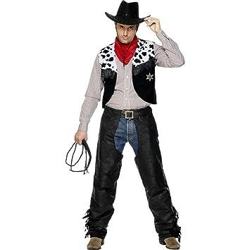 Uniforme de vaquero disfraz oeste carnaval cowboy: Amazon.es ...