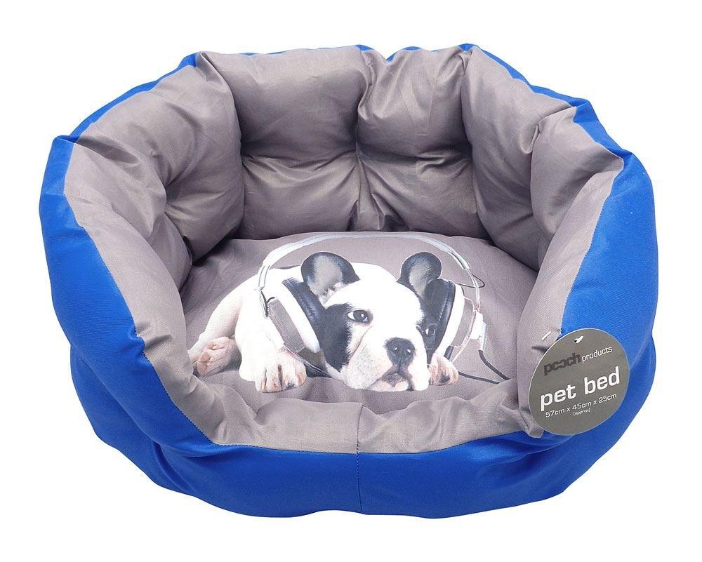BullDog auriculares cama para mascotas perro gato suave cálido acolchado Mat Pad Azul Novedad: Amazon.es: Productos para mascotas