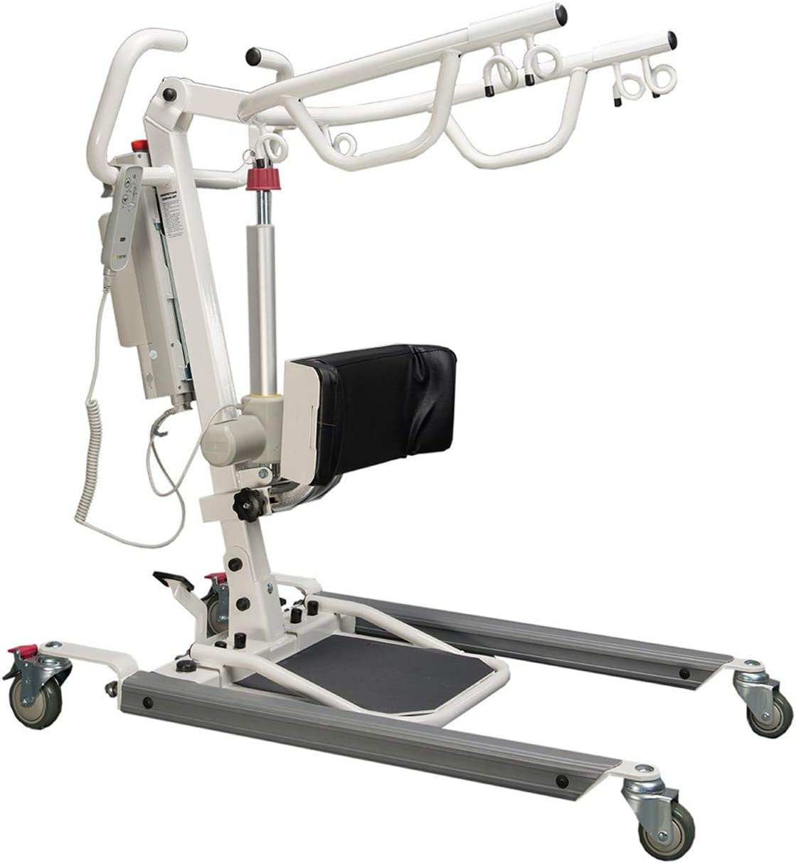 ProHeal Sit to Stand Lift - Full Body Patient Transfer Lifter for Home Use and Facilities - 500 Pound Weight Capacity, 6 Sling Hooks