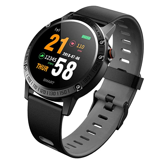 Buy Bingo F6s Smart Tracker, Activity Health Tracker Waterproof Smart Watch Wristband with Blood Pressure Heart Rate Sleep Monitor Pedometer Step Calorie Counter for Android and iOS(Grey) Online at Low Prices in India - Amazon.in