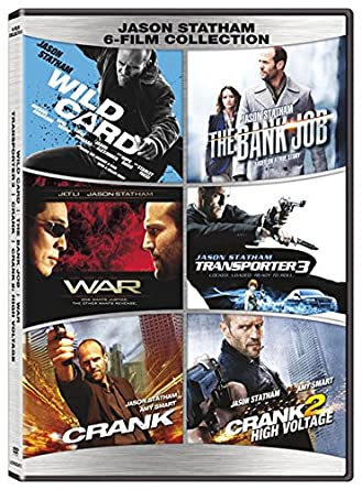 Amazoncom Jason Statham 6 Film Collection Dvd Jason Statham