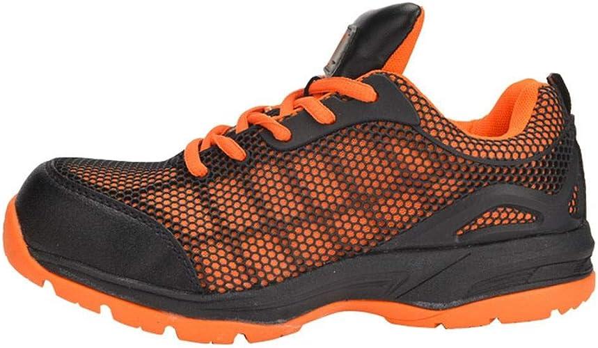 Amazon.com: Optimal Mujer Zapatos de seguridad calzado de ...