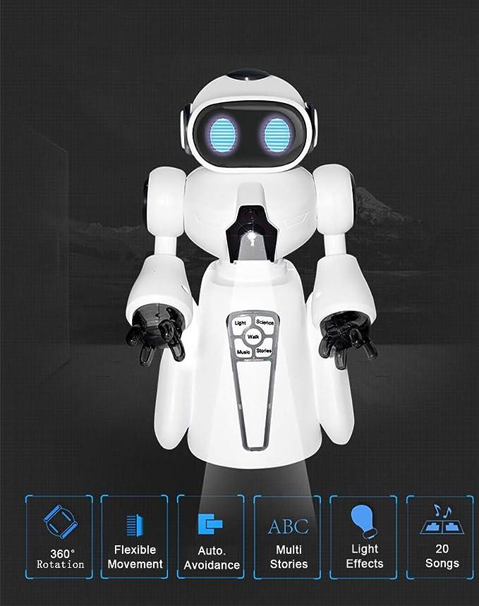 Amazon.es: XIAPIA Inteligente Robot Juguete con Cantando y ...
