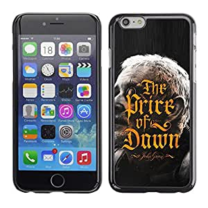 Be Good Phone Accessory // Dura Cáscara cubierta Protectora Caso Carcasa Funda de Protección para Apple Iphone 6 Plus 5.5 // Price Of Dawn Golden Calligraphy Book
